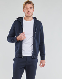 Vêtements Homme Sweats Polo Ralph Lauren SWEATSHIRT A CAPUCHE ZIPPE EN JOGGING DOUBLE KNIT TECH Marine