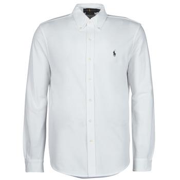 Vêtements Homme Chemises manches longues Polo Ralph Lauren COPOLO Blanc