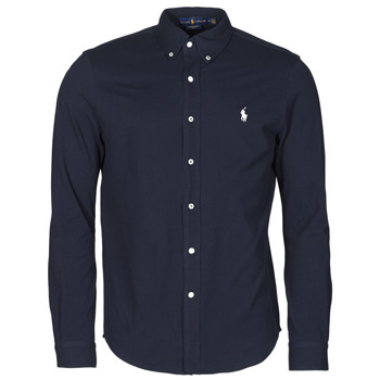 CHEMISE AJUSTEE COL BOUTONNE EN POLO FEATHERWEIGHT