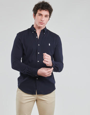 Polo Ralph Lauren CHEMISE AJUSTEE COL BOUTONNE EN POLO FEATHERWEIGHT