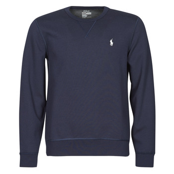 Vêtements Homme Sweats Polo Ralph Lauren SWEATSHIRT COL ROND EN JOGGING DOUBLE KNIT TECH Bleu marine