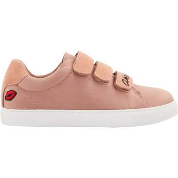 Chaussures Femme Baskets basses Bons Baisers De Paname Edith Amour Satin Rose ROSE