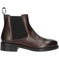 Chaussures Femme Boots Frau 98L3 Bordeaux