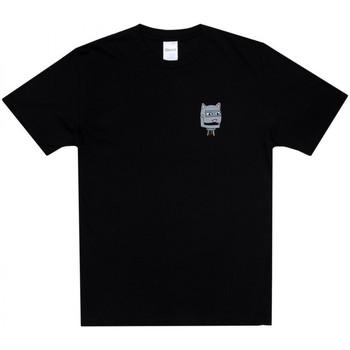 Vêtements Homme T-shirts manches courtes Ripndip Bionic nerm tee Noir