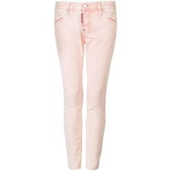 Vêtements Femme Pantalons 5 poches Dsquared  Rose