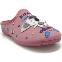 Chaussures Femme Chaussons Maison De Lespadrille 6518 ROSE