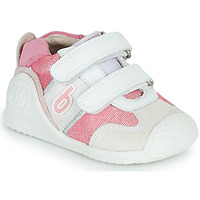 Chaussures Fille Baskets basses Biomecanics 212123 Blanc / Rose