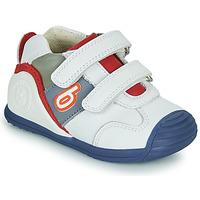 Chaussures Garçon Baskets basses Biomecanics 202148 Blanc / Bleu / Rouge