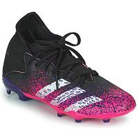 Chaussures Enfant Football adidas Performance PREDATOR FREAK .3 F Noir / Rose