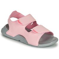 Chaussures Fille Sandales et Nu-pieds adidas Performance SWIM SANDAL C Rose