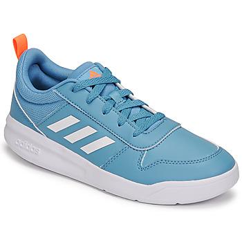 Chaussures Enfant Baskets basses adidas Performance TENSAUR K Bleu