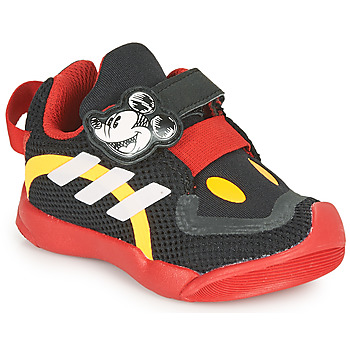 Chaussures Enfant Baskets basses adidas Performance ACTIVEPLAY MICKEY I Noir / Rouge