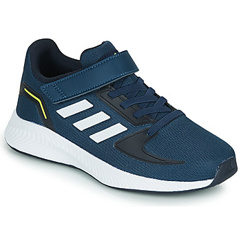 Chaussures Enfant Baskets basses adidas Performance RUNFALCON 2.0 C Marine / Blanc