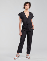 Vêtements Femme Combinaisons / Salopettes See U Soon 21191033 Noir