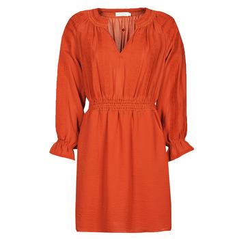 Vêtements Femme Robes courtes See U Soon 21122109 Rouge