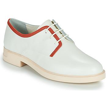 Chaussures Femme Derbies Camper TWINS Blanc