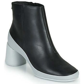 Chaussures Femme Bottines Camper UPRIGHT Noir / Blanc