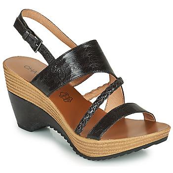 Chaussures Femme Sandales et Nu-pieds Chattawak JULIETTE Noir
