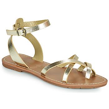 Chaussures Femme Sandales et Nu-pieds Chattawak PERLA Doré
