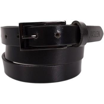 Accessoires textile Ceintures Jaslen Unisex Leather Noir