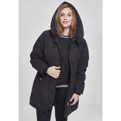 Vêtements Femme Parkas Urban Classics Parka femme Urban Classic gart wahed long GT noir