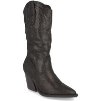 Chaussures Femme Bottes ville Buonarotti 1A-0475 Negro
