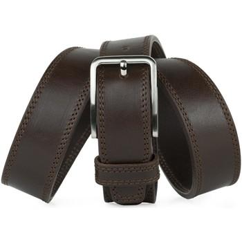 Accessoires textile Homme Ceintures Jaslen Formal Leather Marron