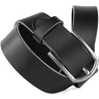 Accessoires textile Ceintures Jaslen Hebijon Leather Noir
