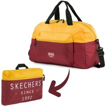 Sacs Sacs de voyage Skechers MOVE Sac de sport pliant de poche intégré Vieil Or
