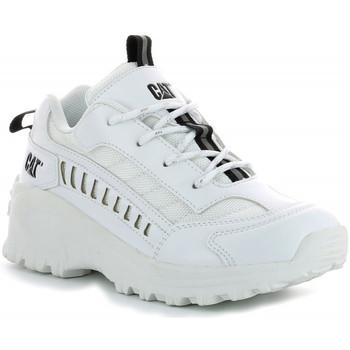 Chaussures Garçon Baskets basses Caterpillar Intruder BLANC
