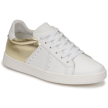 Chaussures Femme Baskets basses Myma PIGGE Blanc / Or