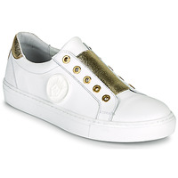 Chaussures Femme Baskets basses Myma PAGGI Blanc / Or