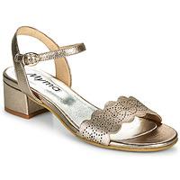 Chaussures Femme Sandales et Nu-pieds Myma POULISSADE Doré
