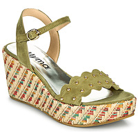 Chaussures Femme Sandales et Nu-pieds Myma POLIDO Kaki