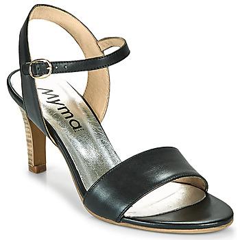 Chaussures Femme Sandales et Nu-pieds Myma POLIDOME Noir