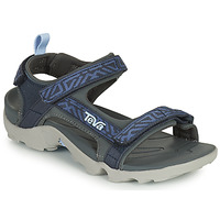 Chaussures Garçon Coton Du Monde Teva TANZA Bleu
