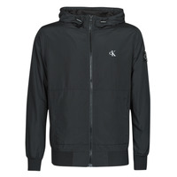 Vêtements Homme Blousons Calvin Klein Jeans ESSENTIALS HOODED BOMBER Noir