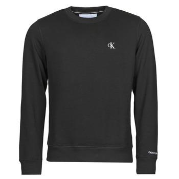 Vêtements Homme Sweats Calvin Klein Jeans CK ESSENTIAL REG CN Noir