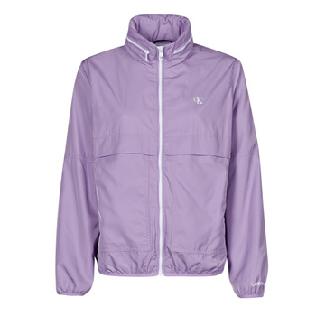 Vêtements Femme Coupes vent Calvin Klein Jeans CONTRAST ZIP WINDBREAKER Lila