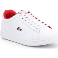 Chaussures Homme Baskets basses Lacoste Carnaby Evo 317 3 SPM 7-34SPM0003042 biały