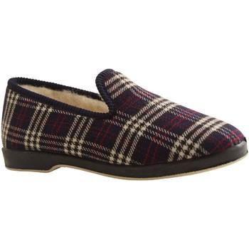 Chaussures Chaussons Botty Selection Femmes CHARENTAISE 284 BLEU MARINE