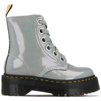 Chaussures Femme Bottes Dr Martens Botte Gris