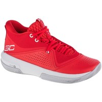 Chaussures Homme Basketball Under Armour SC 3ZERO IV Rouge