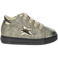 Chaussures Fille Baskets basses Falcotto 0012012813.02 Platine
