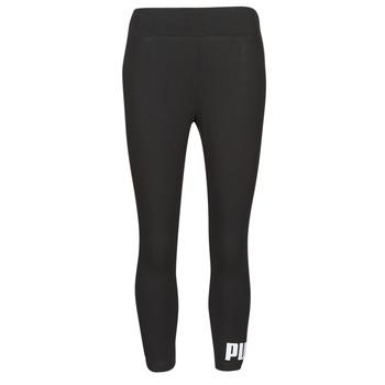 Vêtements Femme Leggings Puma ESS 3/4 LOGO LEGGING Noir