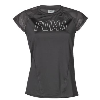 Vêtements Femme T-shirts manches courtes Puma WMN TRAINING TEE F Noir