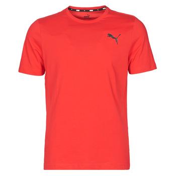 Vêtements Homme T-shirts manches courtes Puma ESS TEE Rouge