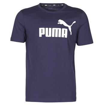 Vêtements Homme T-shirts manches courtes Puma ESSENTIAL TEE Marine