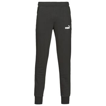 Vêtements Homme Pantalons de survêtement Puma ESS LOGO SLIM PANT LOGO FL CL Noir