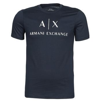 Vêtements Homme T-shirts manches courtes Armani Exchange 8NZTCJ-Z8H4Z Marine